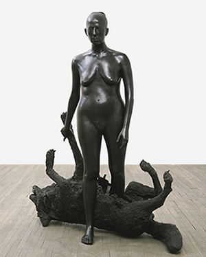 "Kiki Smith, Rapture, 2001, bronze, 67-1/4 x 62 x 26-1/2"", edition of 3, © Kiki Smith"