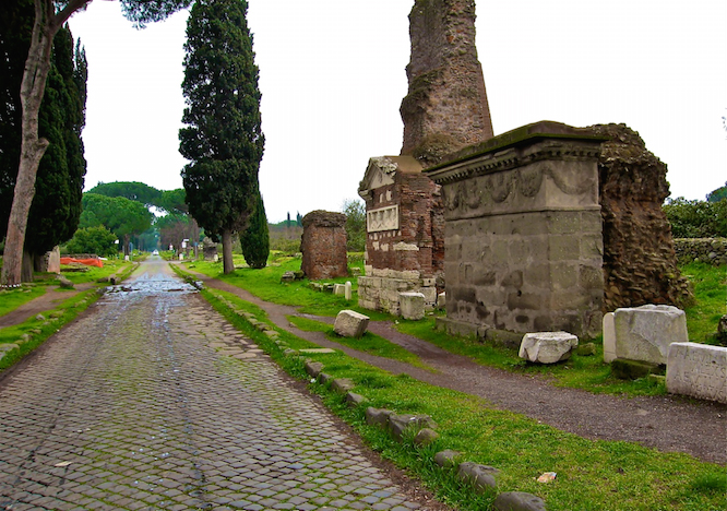 Tombs along the Via Appia, Rome