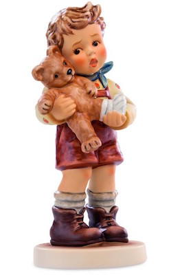 """A Little Boo Boo,"" Hummel figurine, porcelain"