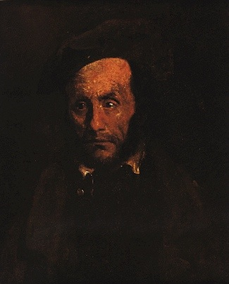 Théodore Géricault, Portait of a Child Snatcher, 1822, oil on canvas, 65 x 54 cm (Museum of Fine Arts, Springfield, Massachusetts)