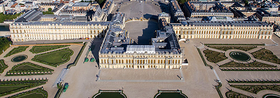 Aerial view of the Palace of Versailles, 1664-1710 (photo: ToucanWings, CC BY-SA 3.0)