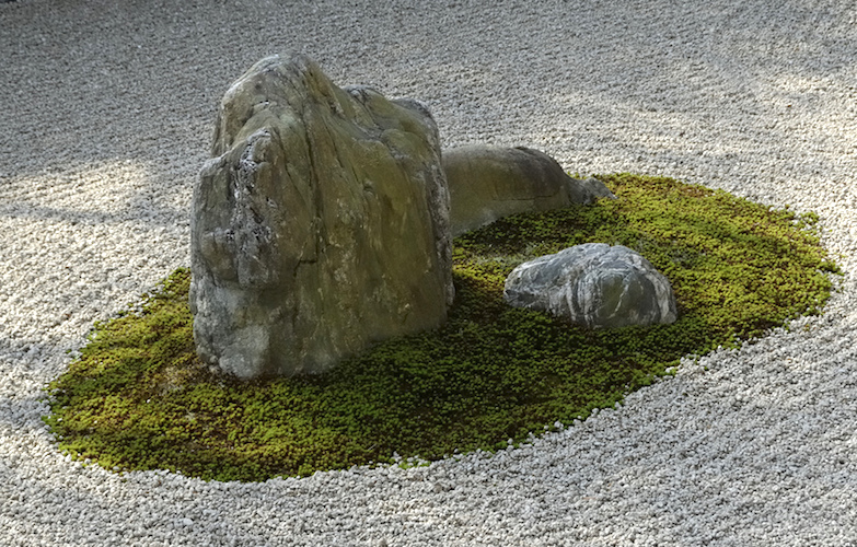 Rock garden, Ryōanji, Kyoto, Japan (photo: Andy H, CC BY-NC-ND 2.0))