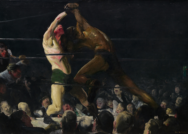 George Bellows, Both Members of This Club, 1909, oil on canvas, 115 x 160.5 cm(National Gallery of Art, Washington D.C.)