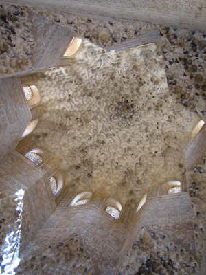Ceiling, Hall of the Ambassadors, Alhambra (photo: amyhsk, CC BY-NC-ND 2.0)