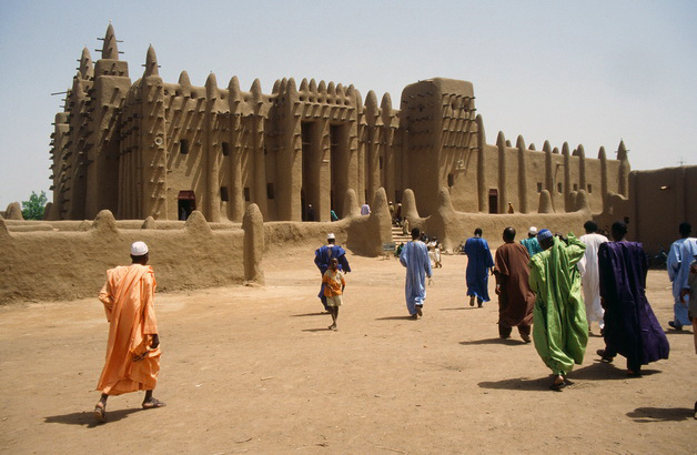 Great Mosque of Djenné, Mali, 1907 (photo: herr_hartmann, CC BY-NC 2.0)