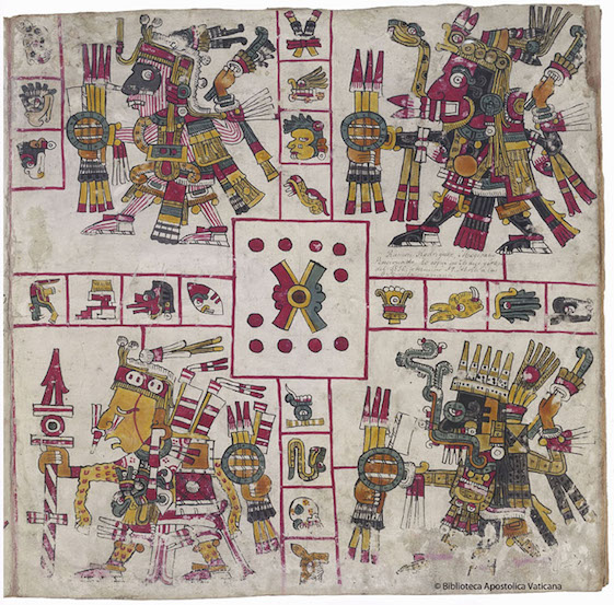 Codex Borgia Article Aztec Mexica Khan Academy