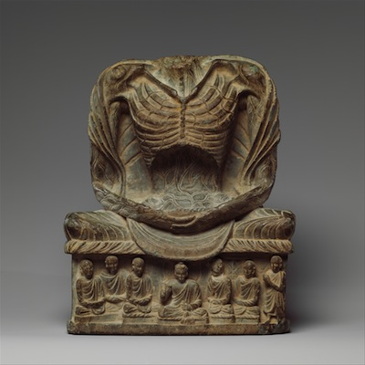 Fasting Buddha Shakyamuni, 3rd-5th century Kushan period, Pakistan/ancient Gandhara (Metropolitan Museum of Art)