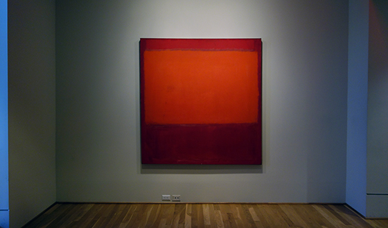 Mark Rothko, Orange and Red on Red, 1957, oil on canvas, 174.92 x 168.59 cm (The Phillips Collection)