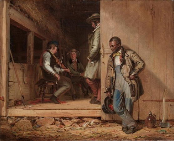 William Sidney Mount, The Power of Music, 1847, oil on canvas, 67 x 78 cm (The Cleveland Museum of Art)