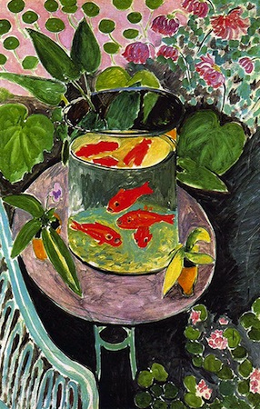Henri Matisse, Goldfish, 1912, oil on canvas, 146 x 97 cm (Pushkin Museum of Art, Moscow)