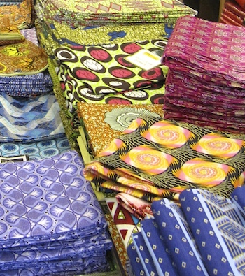 Dutch wax print fabrics (photo: ipercher, CC BY-NC 2.0)