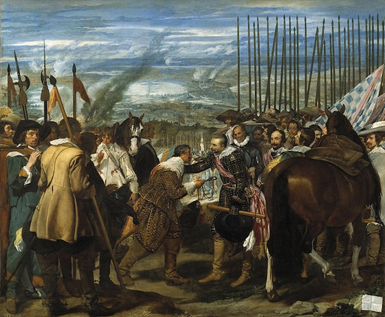 Diego Velázquez, The Surrender of Breda, 1634-35, oil on canvas, 307 cm × 367 cm (Museo del Prado, Madrid)