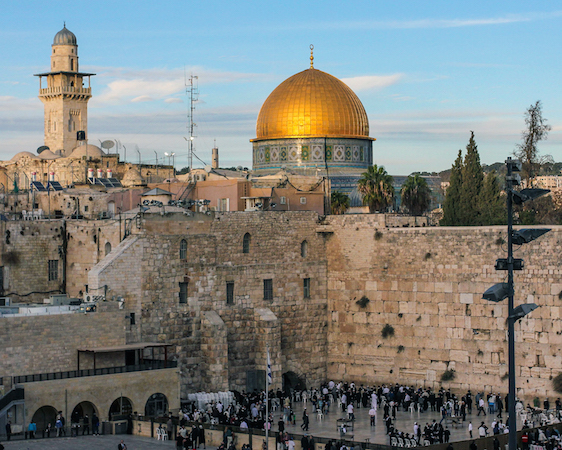 View of the Dome of the Rock with western wall of Second Temple in the foreground, Jerusalem (photo: askii, CC BY-SA 2.0)