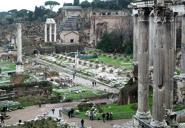 View of the Roman Forum