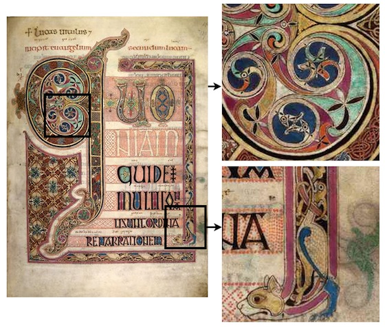 humanities medieval world latin western europe early medieval a the lindisfarne gospels