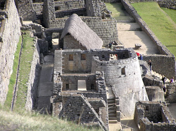 The Observatory, seen from above, Machu Picchu, Peru, c. 1440-1540 (photo: Stephen Trever, CC BY-NC-SA 2.0)