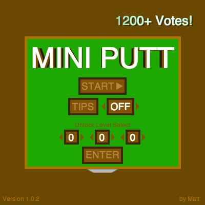 Screenshot of Mini Putt