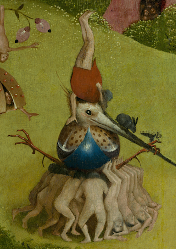 Hieronymus Bosch The Garden of Earthly Delights Smarthistory