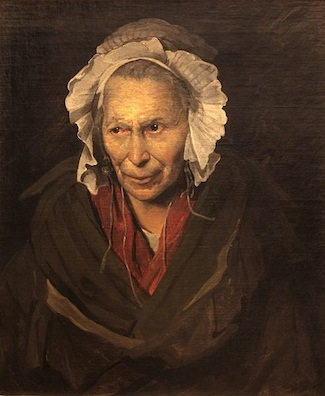 Théodore Géricault, Portrait of a Woman Suffering from Obsessive Envy (The Hyena), 1822, oil on canvas, 72 x 58 cm (Musée des Beaux-Arts, Lyons)