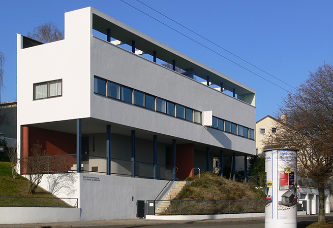 Le Corbusier House, Weissenhofsiedlung, Stuttgart, Germany, 1927 (photo: Andreas Praefcke, CC: BY 3.0)