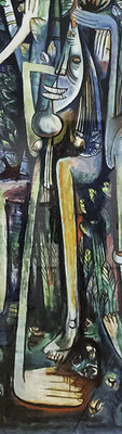 Wilfredo Lam, The Jungle (detail)
