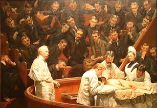 Thomas Eakins, The Agnew Clinic, 1889, oil on canvas, 214 x 300 cm (Philadelphia Museum of Art & the University of Pennsylvania)