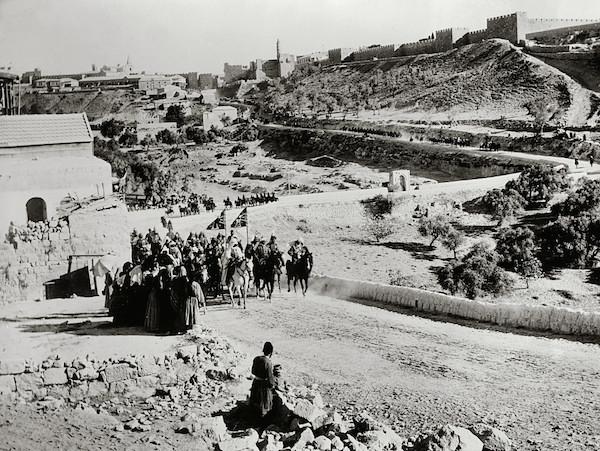 Kaiser Wilhelm II, visit to Jerusalem, 1898