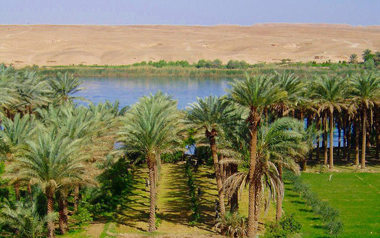 The Euphrates River in 2005