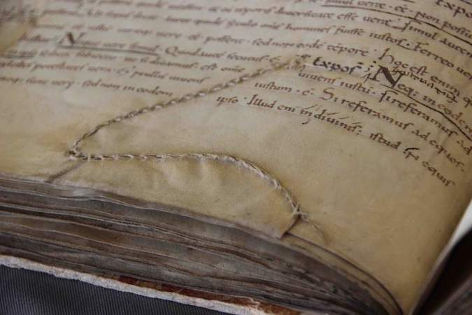 BPL 25 , 9th century (Leiden, Universiteitsbibliotheek), Photo: Erik Kwakkel