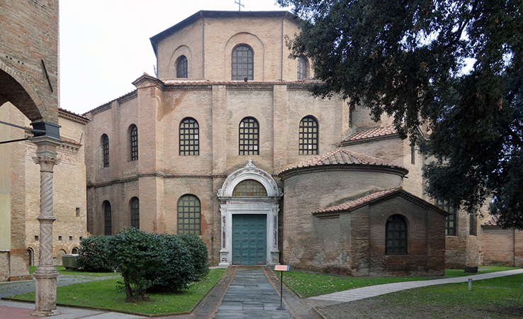 San Vitale, consecrated 547, Ravenna (photo: Steven Zucker, CC: BY-NC-SA 2.0)