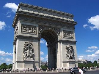 Jean Chalgrin, Arc de Triomphe de l'Étoile, 1806-1836, h. 50 x w. 45 x d. 22m, Paris