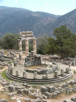 Tholos temple, sanctuary of Athena