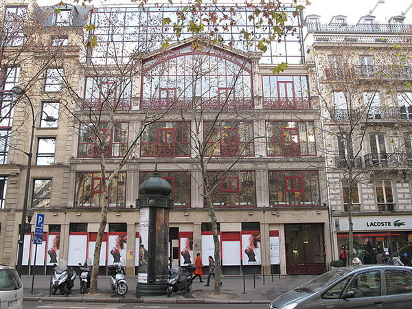 35 Boulevard des Capucines, workshop of Nadar and location of the first Impressionist exhibition in 1874