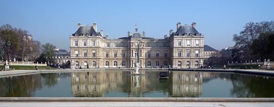 Luxembourg Palace (garden façade), Paris (France)
