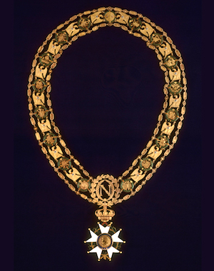 Necklace of the Grand Master of the Order of the Legion of Honor, owned by Napoleon I (Musée de l'Armée)