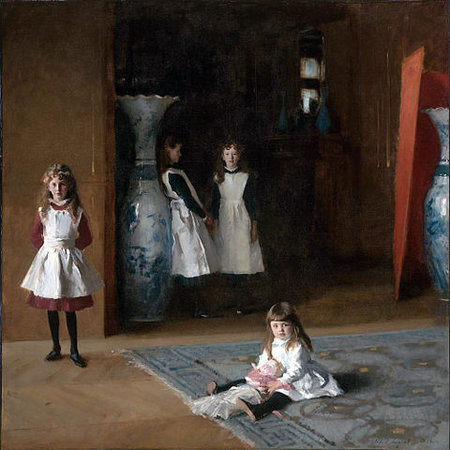 John Singer Sargent, The Daughters of Edward Darley Boit, 1882, oil on canvas, 221.93 x 222.57 cm (Museum of Fine Arts, Boston)