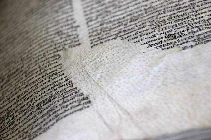 BPL 191 A, 12th century (Leiden, Universiteitsbibliotheek) (photo: Erik Kwakkel)
