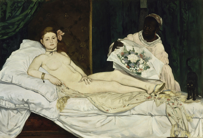 Édouard Manet, Olympia, oil on canvas, 1863 (Musée d'Orsay, Paris)