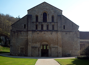 West façade of the Church, Fontenay Abbey