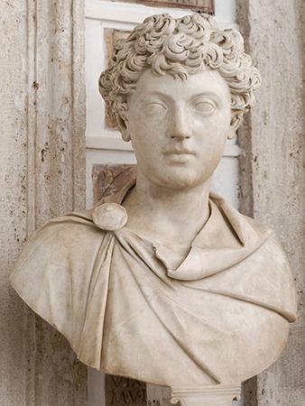 Marcus Aurelius, type I portrait, ca. 140 C.E.