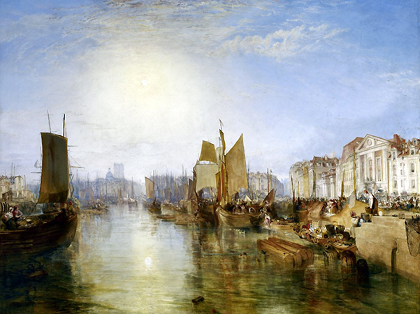 J.M.W. Turner, The Harbour of Dieppe, c. 1826, oil on canvas, 174 x 225 cm (Frick Collection, New York)