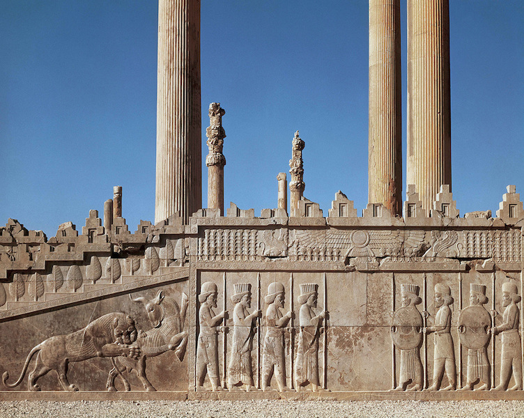 East stairway, Apādana, Persepolis (Fars, Iran), c. 520-465 B.C.E.