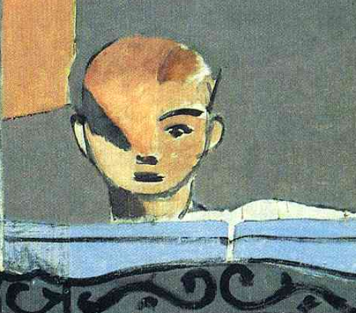 Detail, Henri Matisse, The Piano Lesson, 1916, oil on canvas, 245.1 x 212.7 cm (The Museum of Modern Art, New York City)