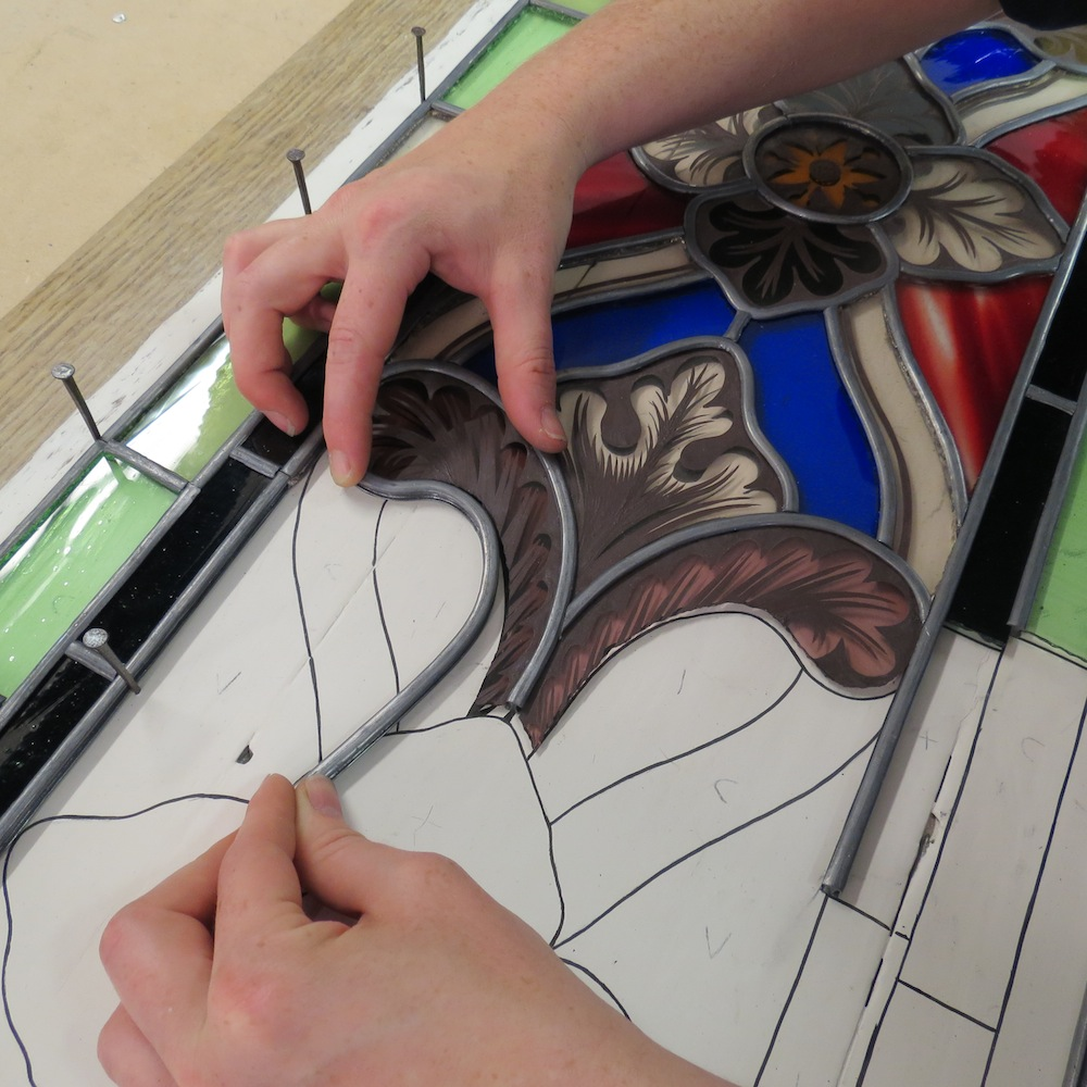 How Stained Glass Is Made