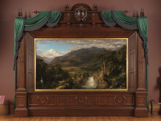 Frederic Edwin Church, Heart of the Andes, 1859, oil on canvas, 168 x 302.9 cm (The Metropolitan Museum of Art)