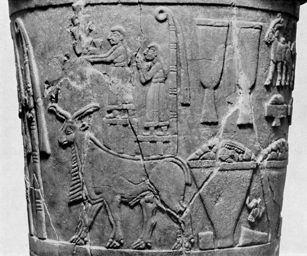 Warka Vase Article Sumerian Khan Academy