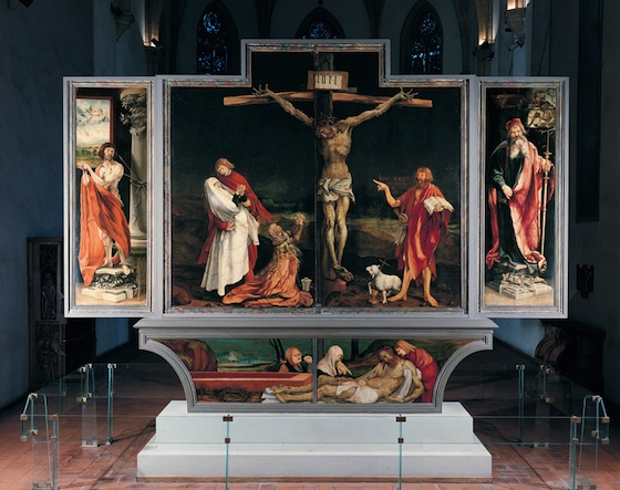Matthias Grünewald, Isenheim Altarpiece (closed), 1510-15