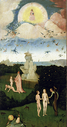 Hieronymus Bosch, Paradise Panel, The Haywain, c. 1500 © The Gallery Collection/CORBIS
