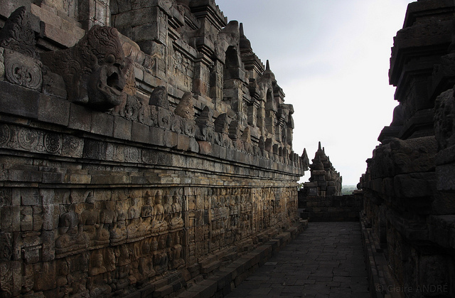 Borobudur, Indonesia (photo: Claire André, CC BY-NC-ND 2.0)