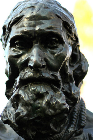 Detail of Eustache de Saint-Pierre, Auguste Rodin, The Burghers of Calais, bronze, 1884-95 (Musée Rodin, Paris) (photo: Jeff Kubina, CC BY-SA 2.0)